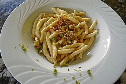 Linguine mit Kokos-Limetten Sauce 8