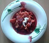 Vegetarischer Borschtsch (Bild)