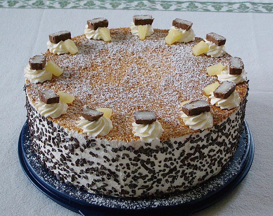 Ananas Bounty Torte Von Torte80 Chefkoch De