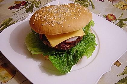 XXL-Hamburgerbrötchen 3