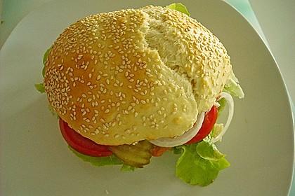 XXL-Hamburgerbrötchen 4