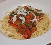 Spaghetti mit Gemüsebolognese (Bild)