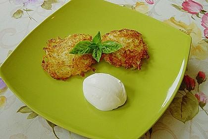 Kartoffel - Käseküchlein