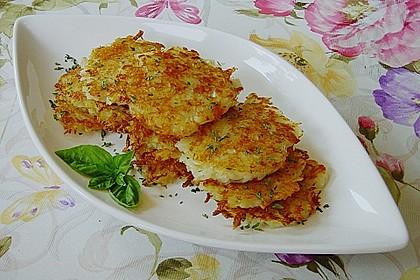 Kartoffel - Käseküchlein 1