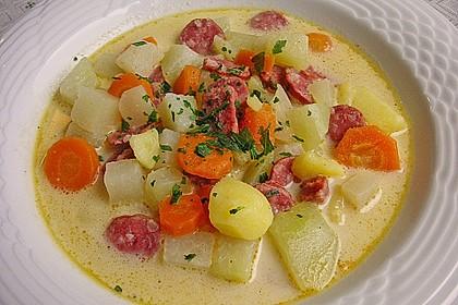 Kohlrabi-Suppentopf