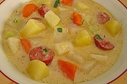 Kohlrabi-Suppentopf 7