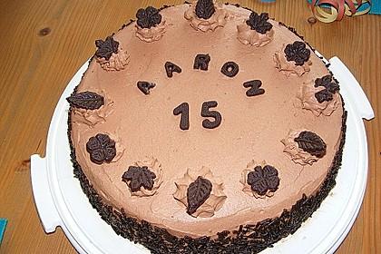 Schokoladensahnetorte (Bild)