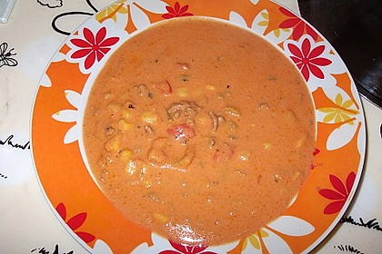Rote Käsesuppe 1