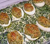 Spinat-Eier Gratin (Bild)
