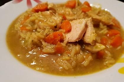 Curryreiseintopf mit Hähnchenbrustfilet 8