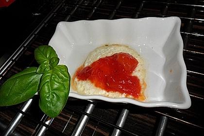 Ziegenfrischkäse mit Tomatenmarmelade 2