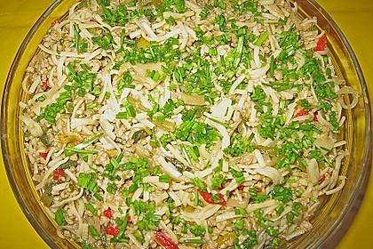 Chinesischer Nudelsalat 1