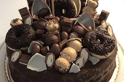 Nutella-Buttercreme Torte (Bild)