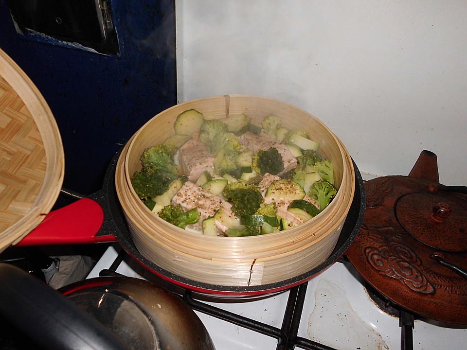 Lachs Im Dampfgarer Ein Sehr Leckeres Rezept Chefkoch De