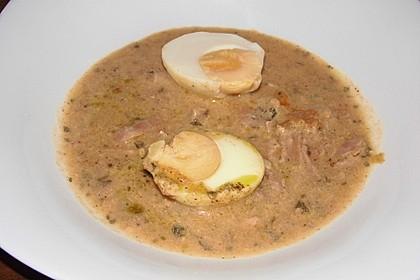 Eier in Schinken-Sahne Soße 15