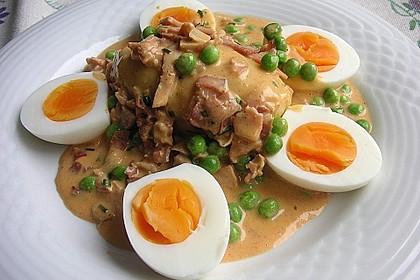 Eier in Schinken-Sahne Soße 4