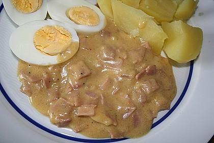 Eier in Schinken-Sahne Soße 17