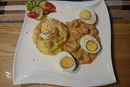 Eier in Schinken-Sahne Soße 32