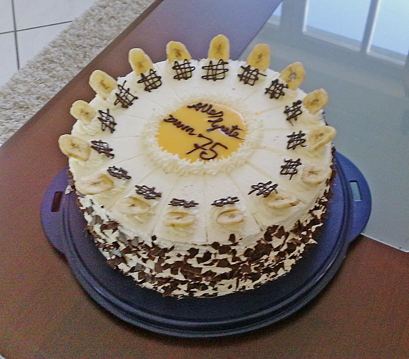 Bananen Eierlikor Torte Von Diana291 Chefkoch De