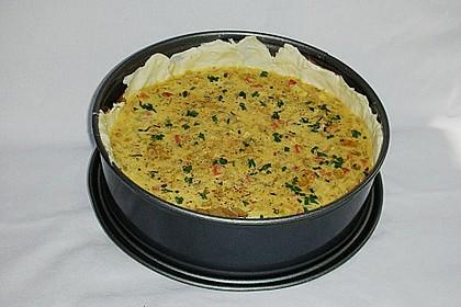 Zwiebelkuchen mit Blätterteig 3