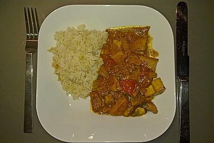 Afrikanischer Kochbananen-Champignon-Topf 1
