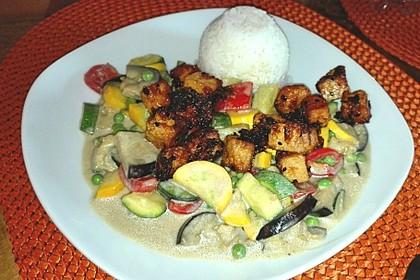Tofu-Gemüse-Curry (Bild)