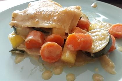 Vegetarische Lasagne (Bild)