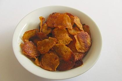 Kartoffelchips selbstgemacht 4