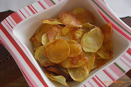 Kartoffelchips selbstgemacht 1