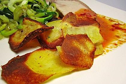 Kartoffelchips selbstgemacht 6