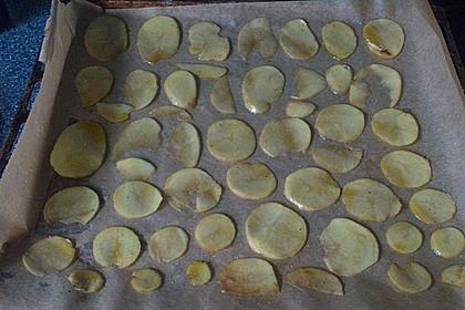 Kartoffelchips selbstgemacht 10