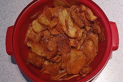 Kartoffelchips selbstgemacht 7