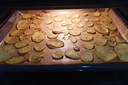 Kartoffelchips selbstgemacht 5