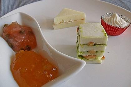 Pikante Mozzarella-Mancheco Praline