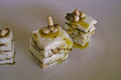 Pikante Mozzarella-Mancheco Praline 5