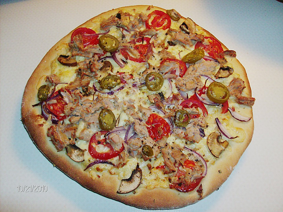 Pizzateig Italienisch Von Mabru Chefkochde