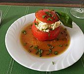Tomaten mit Mozzarella-Tartar (Bild)