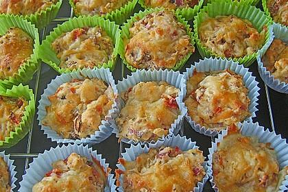 Pizzamuffins (Bild)