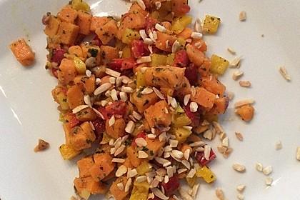 Süßkartoffelsalat mit Paprika und Ingwer 2