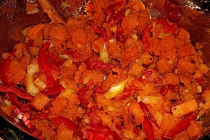Süßkartoffelsalat mit Paprika und Ingwer 6