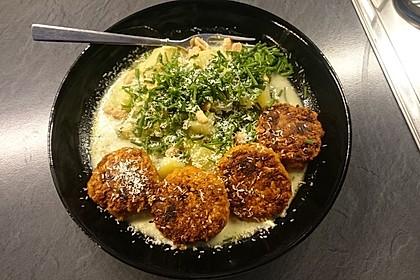 Kartoffel-Lauch Curry mit Kokos