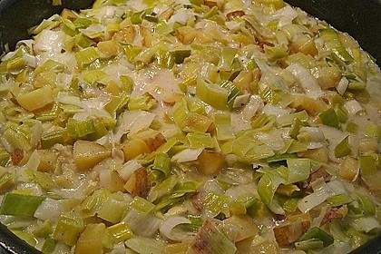 Kartoffel-Lauch Curry mit Kokos 1