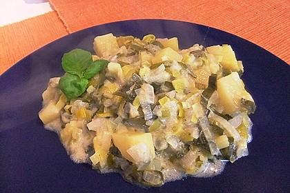 Kartoffel-Lauch Curry mit Kokos 11