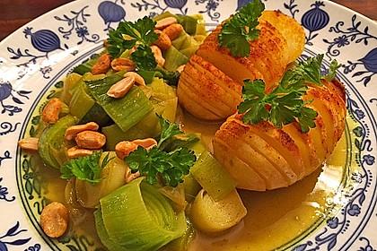 Kartoffel-Lauch Curry mit Kokos 2
