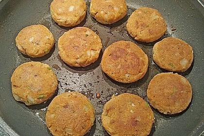 Grundrezept für Bratlinge aus Okara oder Tofu 2