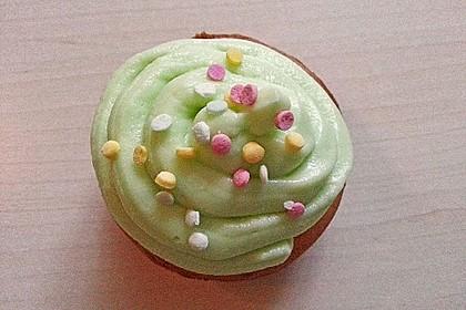Zitronen-Cupcakes mit Creamcheese-Frosting (Bild)
