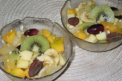Karibischer Fruchtsalat 1