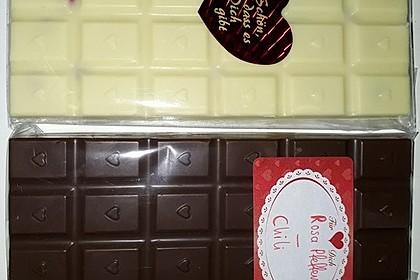 Bunte Bruchschokolade zum Verschenken 9