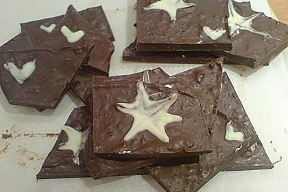 Bunte Bruchschokolade zum Verschenken 65