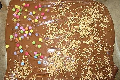 Bunte Bruchschokolade zum Verschenken 69
